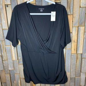 Lane bryant woman's top shirt blouse plus size 22
